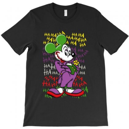 Funny Mr Mouse Ha Ha Ha T-shirt Designed By Meganphoebe