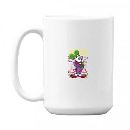 Funny Mr Mouse Ha Ha Ha 15 Oz Coffe Mug Designed By Meganphoebe