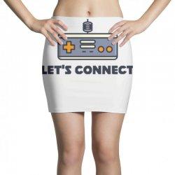 player 2 connect Mini Skirts   Artistshot