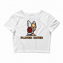 player hater Crop Top | Artistshot