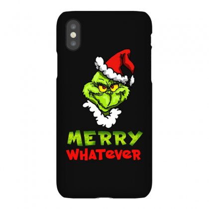 Funny Christmas Grinchy Iphonex Case Designed By Meganphoebe