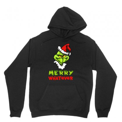 Funny Christmas Grinchy Unisex Hoodie Designed By Meganphoebe