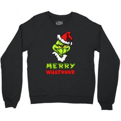 Funny Christmas Grinchy Crewneck Sweatshirt Designed By Meganphoebe