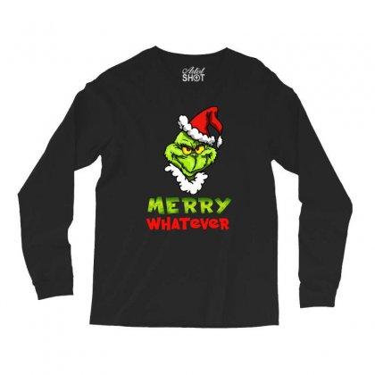 Funny Christmas Grinchy Long Sleeve Shirts Designed By Meganphoebe