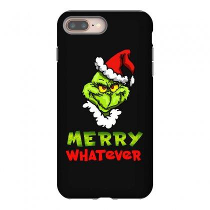Funny Christmas Grinchy Iphone 8 Plus Case Designed By Meganphoebe
