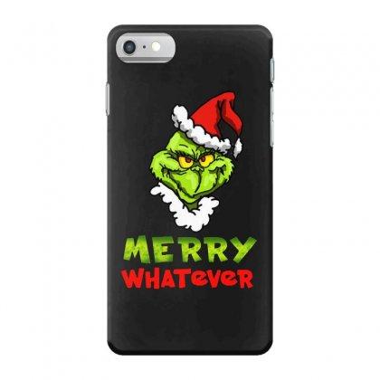 Funny Christmas Grinchy Iphone 7 Case Designed By Meganphoebe