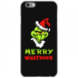 funny christmas grinchy iPhone 6/6s Case | Artistshot
