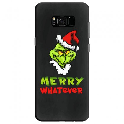 Funny Christmas Grinchy Samsung Galaxy S8 Case Designed By Meganphoebe