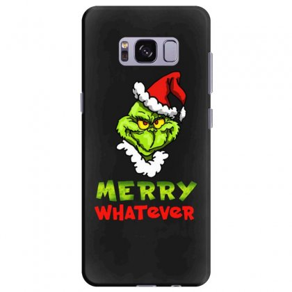 Funny Christmas Grinchy Samsung Galaxy S8 Plus Case Designed By Meganphoebe