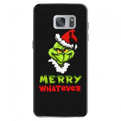 Funny Christmas Grinchy Samsung Galaxy S7 Case Designed By Meganphoebe
