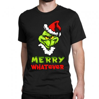Funny Christmas Grinchy Classic T-shirt Designed By Meganphoebe
