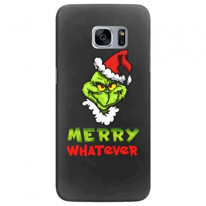 Funny Christmas Grinchy Samsung Galaxy S7 Edge Case Designed By Meganphoebe