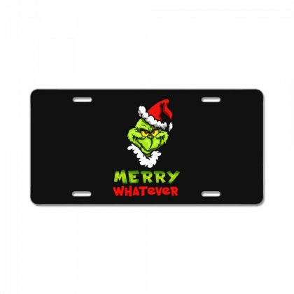 Funny Christmas Grinchy License Plate Designed By Meganphoebe