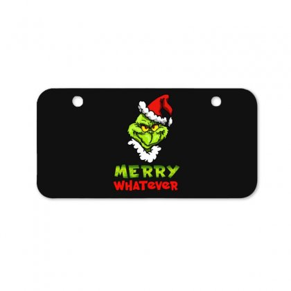 Funny Christmas Grinchy Bicycle License Plate Designed By Meganphoebe