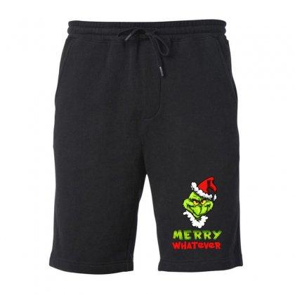 Funny Christmas Grinchy Fleece Short Designed By Meganphoebe