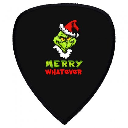 Funny Christmas Grinchy Shield S Patch Designed By Meganphoebe
