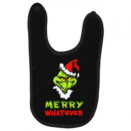 Funny Christmas Grinchy Baby Bibs Designed By Meganphoebe