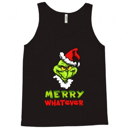 Funny Christmas Grinchy Tank Top Designed By Meganphoebe