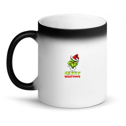 Funny Christmas Grinchy Magic Mug Designed By Meganphoebe