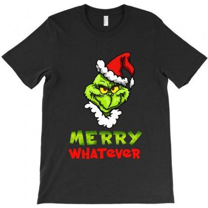 Funny Christmas Grinchy T-shirt Designed By Meganphoebe