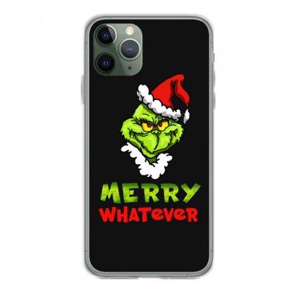 Funny Christmas Grinchy Iphone 11 Pro Case Designed By Meganphoebe