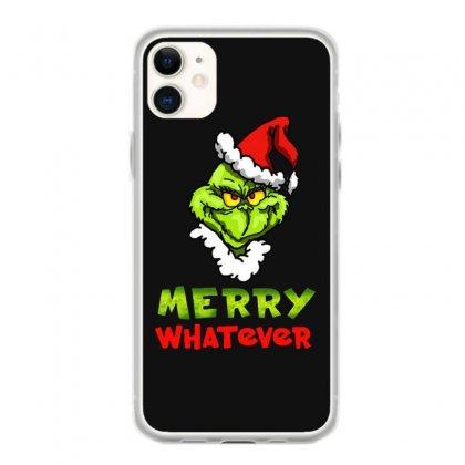 Funny Christmas Grinchy Iphone 11 Case Designed By Meganphoebe
