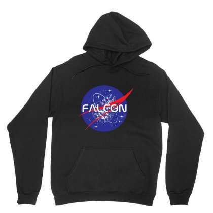 Falcon Space Agency Unisex Hoodie Designed By Meganphoebe