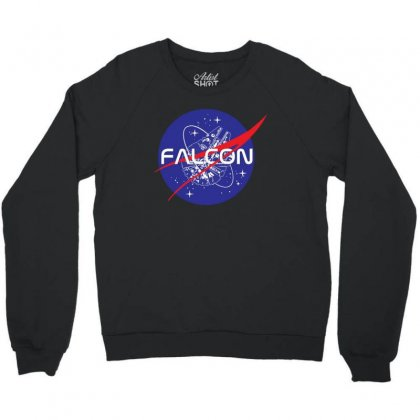 Falcon Space Agency Crewneck Sweatshirt Designed By Meganphoebe