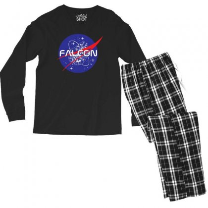 Falcon Space Agency Men's Long Sleeve Pajama Set Designed By Meganphoebe