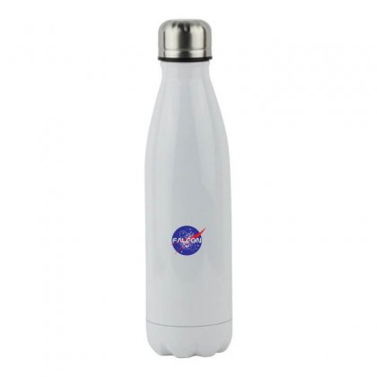Falcon Space Agency Stainless Steel Water Bottle Designed By Meganphoebe