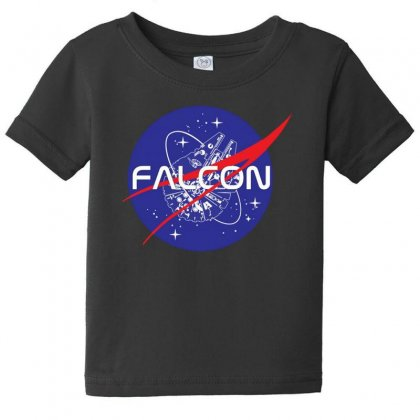 Falcon Space Agency Baby Tee Designed By Meganphoebe