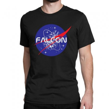 Falcon Space Agency Classic T-shirt Designed By Meganphoebe