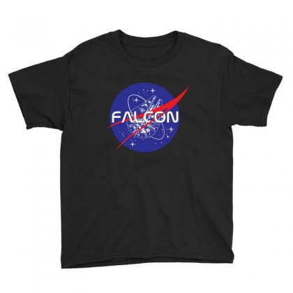Falcon Space Agency Youth Tee Designed By Meganphoebe