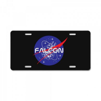 Falcon Space Agency License Plate Designed By Meganphoebe