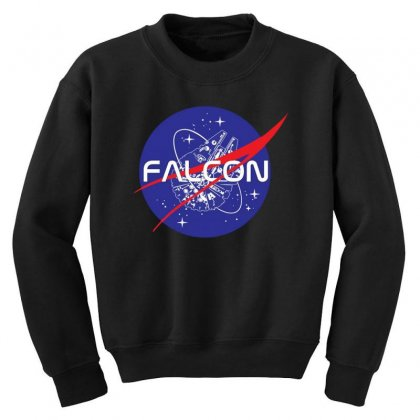 Falcon Space Agency Youth Sweatshirt Designed By Meganphoebe