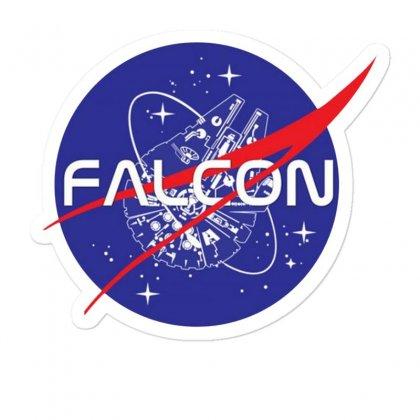 Falcon Space Agency Sticker Designed By Meganphoebe