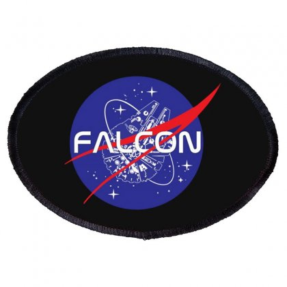 Falcon Space Agency Oval Patch Designed By Meganphoebe