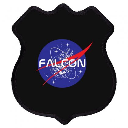 Falcon Space Agency Shield Patch Designed By Meganphoebe