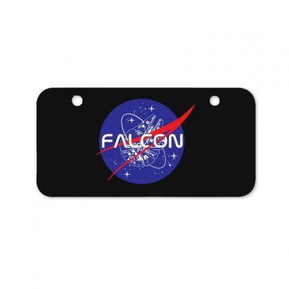 Falcon Space Agency Bicycle License Plate Designed By Meganphoebe
