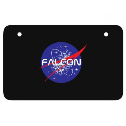 Falcon Space Agency Atv License Plate Designed By Meganphoebe