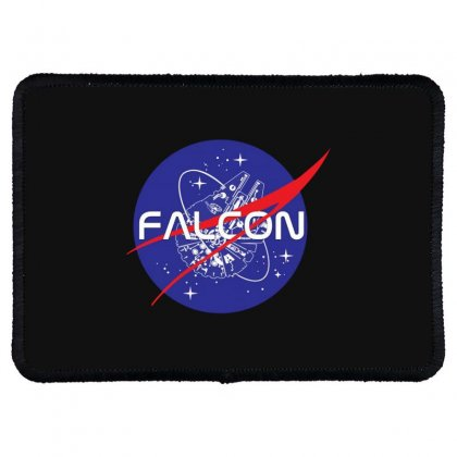 Falcon Space Agency Rectangle Patch Designed By Meganphoebe