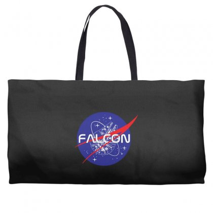 Falcon Space Agency Weekender Totes Designed By Meganphoebe