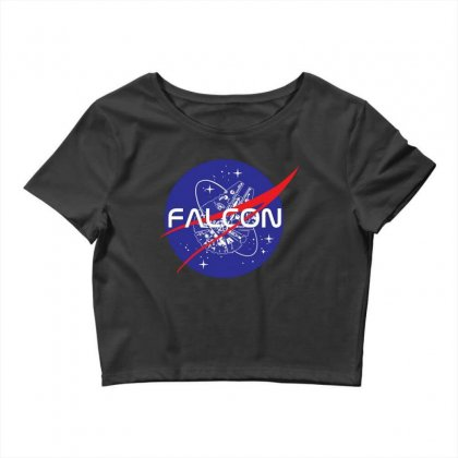 Falcon Space Agency Crop Top Designed By Meganphoebe