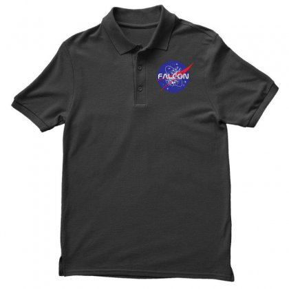 Falcon Space Agency Men's Polo Shirt Designed By Meganphoebe
