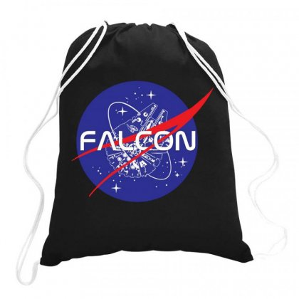 Falcon Space Agency Drawstring Bags Designed By Meganphoebe