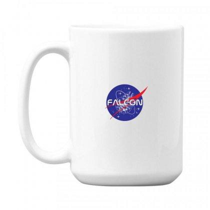 Falcon Space Agency 15 Oz Coffe Mug Designed By Meganphoebe