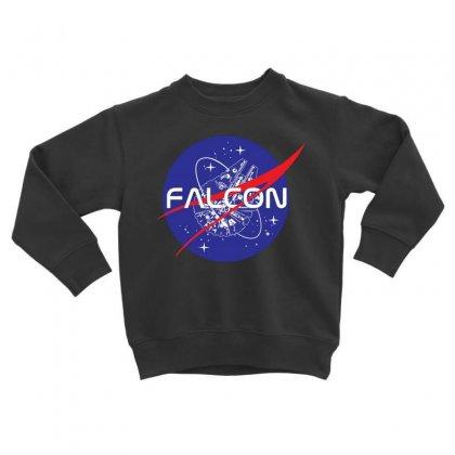 Falcon Space Agency Toddler Sweatshirt Designed By Meganphoebe