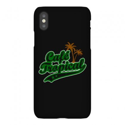 Cafe Tropical Iphonex Case Designed By Meganphoebe