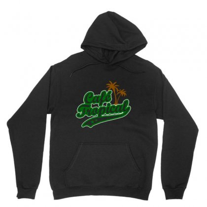 Cafe Tropical Unisex Hoodie Designed By Meganphoebe