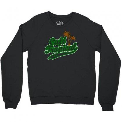 Cafe Tropical Crewneck Sweatshirt Designed By Meganphoebe